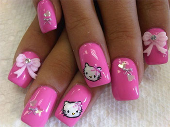 15-Cute-Hello-Kitty-Inspired-Nail-Art-Designs-Ideas-Stickers-2014-1