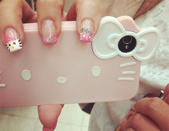 15-Cute-Hello-Kitty-Inspired-Nail-Art-Designs-Ideas-Stickers-2014-14