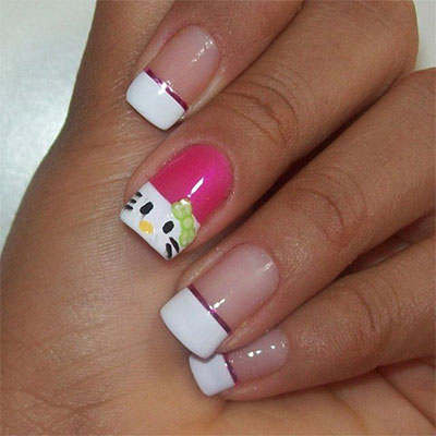 20-Easy-Hello-Kitty-Nail-Art-Designs-Ideas-Stickers-2014-10
