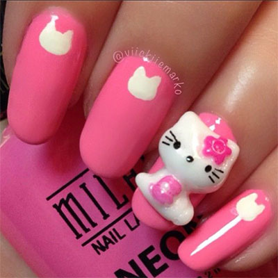 20-Easy-Hello-Kitty-Nail-Art-Designs-Ideas-Stickers-2014-12