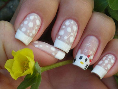 20-Easy-Hello-Kitty-Nail-Art-Designs-Ideas-Stickers-2014-14