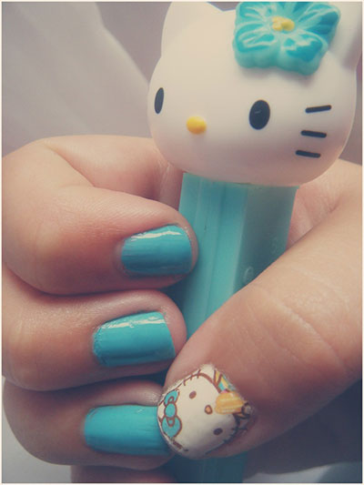 20-Easy-Hello-Kitty-Nail-Art-Designs-Ideas-Stickers-2014-18