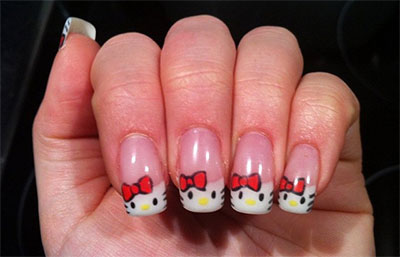 20-Easy-Hello-Kitty-Nail-Art-Designs-Ideas-Stickers-2014-19