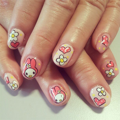 20-Easy-Hello-Kitty-Nail-Art-Designs-Ideas-Stickers-2014-2