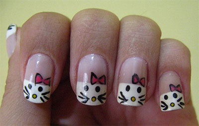 20-Easy-Hello-Kitty-Nail-Art-Designs-Ideas-Stickers-2014-20