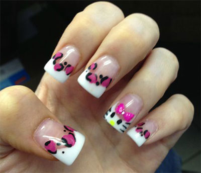 20-Easy-Hello-Kitty-Nail-Art-Designs-Ideas-Stickers-2014-6