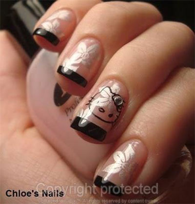 20-Easy-Hello-Kitty-Nail-Art-Designs-Ideas-Stickers-2014-9