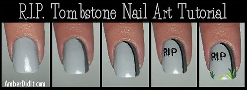 20-Easy-Step-By-Step-Scary-Halloween-Nail-Art-Tutorials-For-Beginners-2014-1