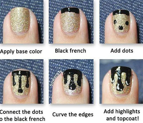 Simple nail art tutorial step by step step by easy nail art ideas g nail art tutorials for beginners view images prinsesfo Choice Image