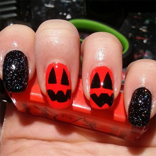 20-Inspiring-Scary-Halloween-Pumpkin-Nail-Art-Designs-Ideas-Stickers-2014-15