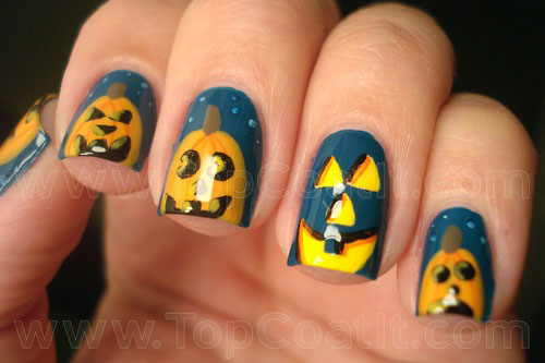 20-Inspiring-Scary-Halloween-Pumpkin-Nail-Art-Designs-Ideas-Stickers-2014-17