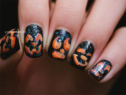 20-Inspiring-Scary-Halloween-Pumpkin-Nail-Art-Designs-Ideas-Stickers-2014-19