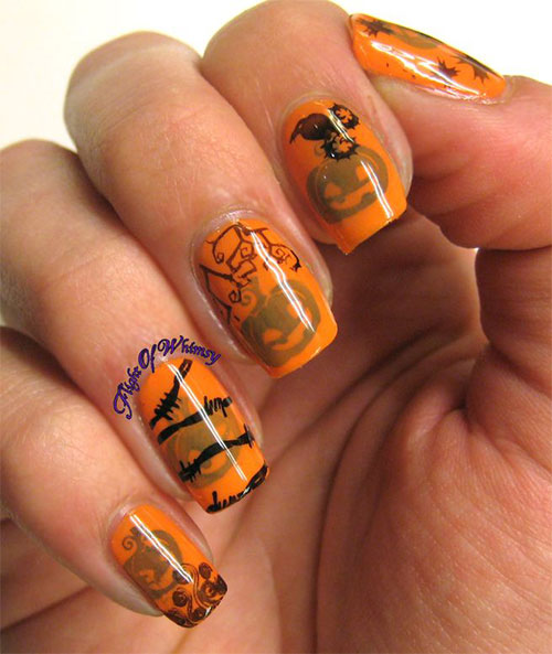 20-Inspiring-Scary-Halloween-Pumpkin-Nail-Art-Designs-Ideas-Stickers-2014-21