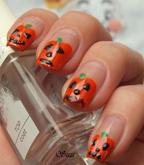 20-Inspiring-Scary-Halloween-Pumpkin-Nail-Art-Designs-Ideas-Stickers-2014-4