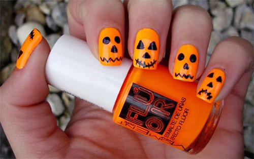 20-Inspiring-Scary-Halloween-Pumpkin-Nail-Art-Designs-Ideas-Stickers-2014-5