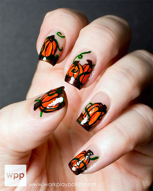 20-Inspiring-Scary-Halloween-Pumpkin-Nail-Art-Designs-Ideas-Stickers-2014-9