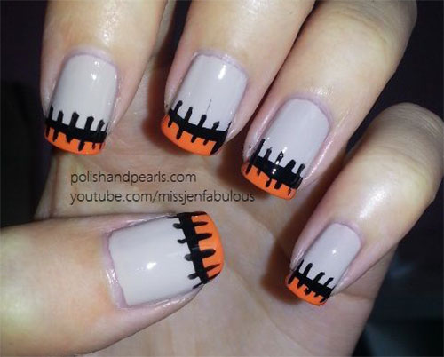 25 easy yet scary halloween nail art designs ideas trends 25 best yet scary halloween nail art designs solutioingenieria Gallery