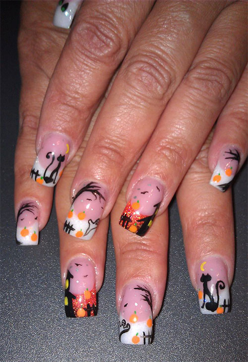 25-Best-Yet-Scary-Halloween-Nail-Art-Designs-Ideas-Trends-Stickers-2014-5