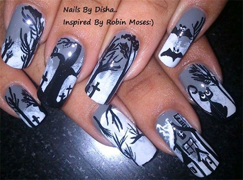 25-Best-Yet-Scary-Halloween-Nail-Art-Designs-Ideas-Trends-Stickers-2014-7