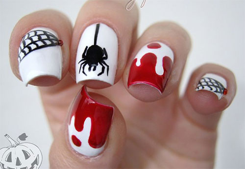 25-Scary-Halloween-Nails-Art-Designs-Trends-Stickers-2014-12