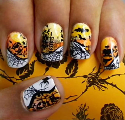 25-Scary-Halloween-Nails-Art-Designs-Trends-Stickers-2014-2
