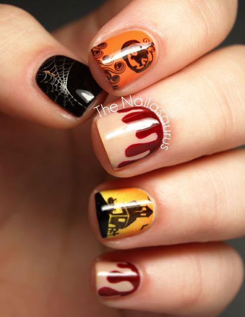 25-Scary-Halloween-Nails-Art-Designs-Trends-Stickers-2014-24