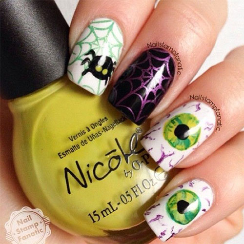 25-Scary-Halloween-Nails-Art-Designs-Trends-Stickers-2014-7