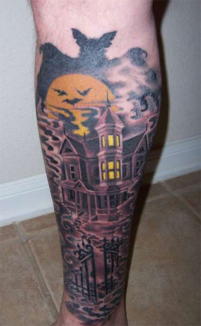 12-Scary-Halloween-Themed-Temporary-Tattoo-Designs-Ideas-2014-11