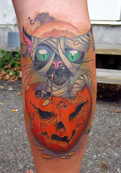 12-Scary-Halloween-Themed-Temporary-Tattoo-Designs-Ideas-2014-12