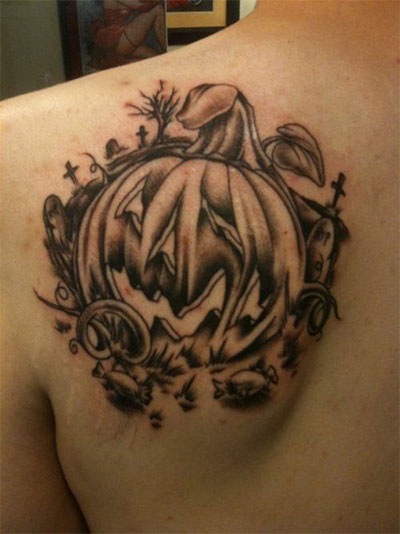 12-Scary-Halloween-Themed-Temporary-Tattoo-Designs-Ideas-2014-3