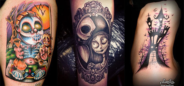 12-Scary-Halloween-Themed-Temporary-Tattoo-Designs-Ideas-2014