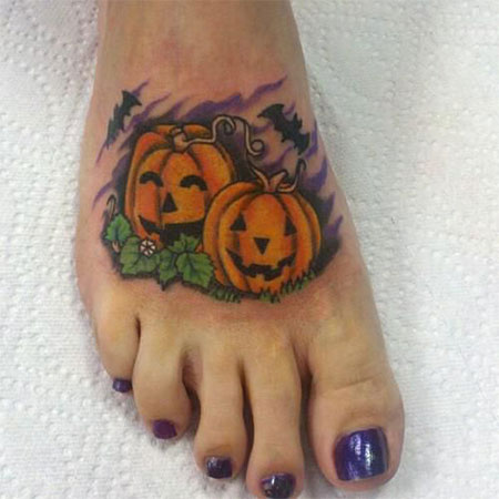15-Cool-Pumpkin-Halloween-Inspired-Temporary-Tattoo-Designs-Ideas-2014-12