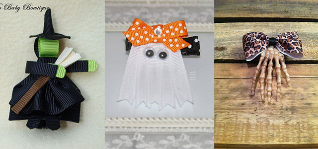 20-Cute-Scary-Halloween-Hairclips-2014-For-Kids-Babies-Hair-Accessories