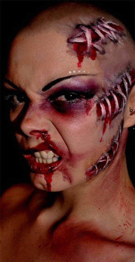 20-Zombie-Halloween-Make-Up-Looks-Trends-Ideas-For-Girls-2014-18
