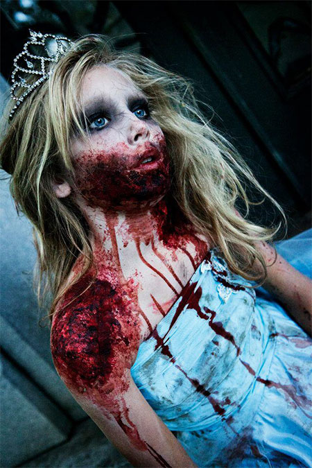 20 Zombie Halloween Make Up Looks Trends &amp Ideas For - Ladies Halloween Make Up