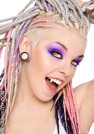 30-Crazy-Scary-Halloween-Hairstyle-Ideas-For-Girls-Women-2014-20
