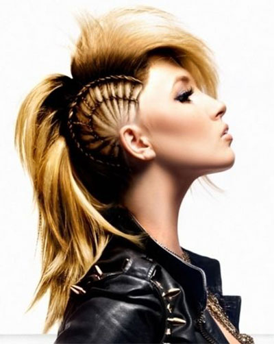 30 Crazy Amp Scary Halloween Hairstyle Ideas For Girls