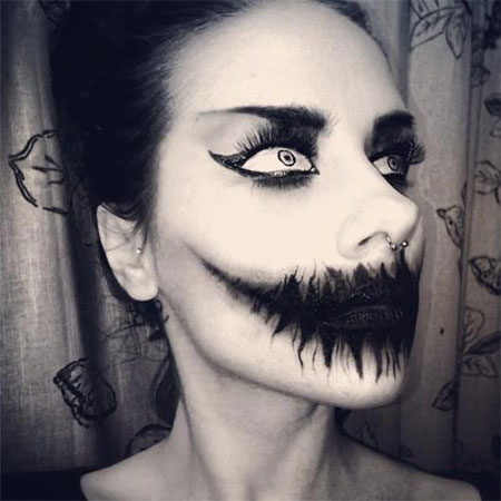 30 Scary Halloween Make Up Looks, Trends & Ideas For Kids & Girls ...