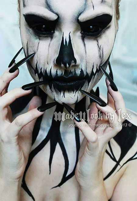 30-Scary-Halloween-Make-Up-Looks-Trends-Ideas-For-Kids-Girls-2014-3