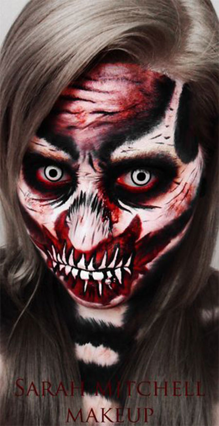 30-Scary-Halloween-Make-Up-Looks-Trends-Ideas-For-Kids-Girls-2014-4