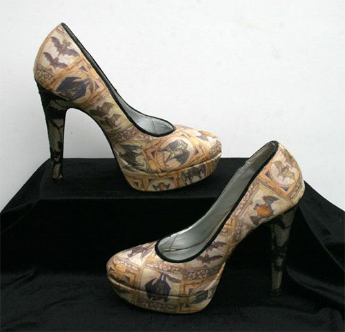 Stylish-Scary-Halloween-High-Heels-Shoes -Boots-For-Women-2014-1