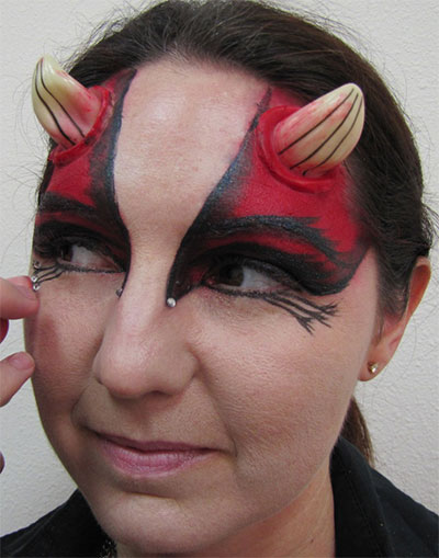 12 Scary Halloween Devil Make Up Looks, Trends & Ideas For Girls ...