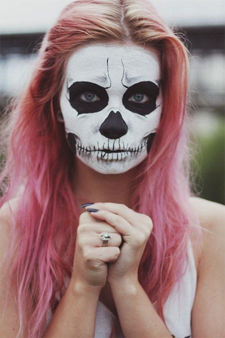 15-Halloween-Skeleton-Make-Up-Looks-Ideas-Trends-2014-1