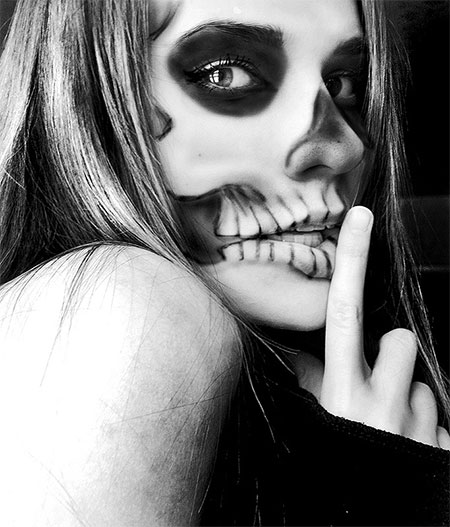 15-Halloween-Skeleton-Make-Up-Looks-Ideas-Trends-2014-13