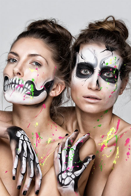 15-Halloween-Skeleton-Make-Up-Looks-Ideas-Trends-2014-15