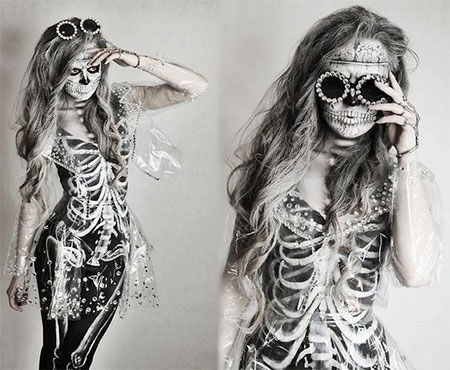 15-Halloween-Skeleton-Make-Up-Looks-Ideas-Trends-2014-16