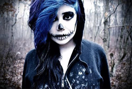 15-Halloween-Skeleton-Make-Up-Looks-Ideas-Trends-2014-3