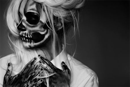 15-Halloween-Skeleton-Make-Up-Looks-Ideas-Trends-2014-6