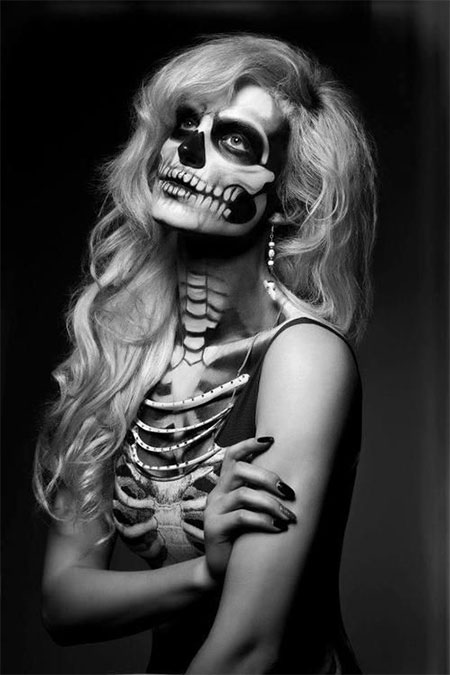 15-Halloween-Skeleton-Make-Up-Looks-Ideas-Trends-2014-8