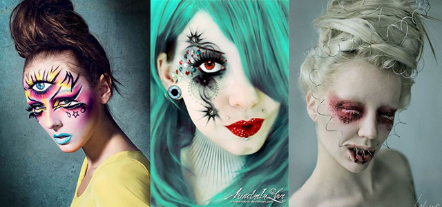 15 Spooky & Creepy Halloween Eye Make Up Trends & Ideas 2015 ...